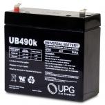 Universal UB445 4 Volt 4.5 Ah Sealed Lead Acid Battery