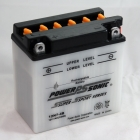 Power Sonic 12N7-4B conventional flooded power sports battery