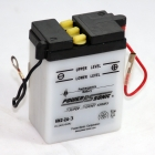 6N2-2A-3 6 Volt 2 Ah Power Sports Battery with Battery Acid and Free Shipping