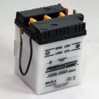 6N4-2A-3 6 Volt 4 Ah Power Sports Battery with Battery Acid and Free Shipping