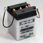 6N2-2A-5 6 Volt 2 Ah Power Sports Battery with Battery Acid and Free Shipping