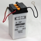 6N4A-4D 6 Volt, 35 CCA, 2 Ah Power Sports Battery with Battery Acid and Free Shipping