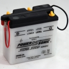 6N4B-2A 6 Volt, 24 CCA, 2 Ah Power Sports Battery with Battery Acid and Free Shipping