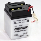 6N4C-1B 6 Volt, 24 CCA, 2 Ah Power Sports Battery with Battery Acid and Free Shipping