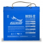 Fullriver DC55-12 Deep Cycle AGM Battery, Group Size 22NF