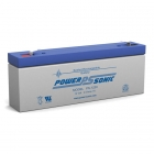 PS-1220 - 12 Volt 2.5 Ah Sealed Lead Acid Battery
