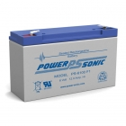 PS-6100 - 6 Volt 12 Ah Sealed Lead Acid Battery