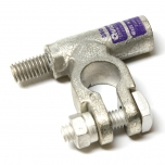 3/0 Gauge Left Add-On-Terminal Clamp Connector Stud View