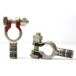 6 Gauge Straight Terminal Clamp Connector