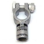1/0 Gauge Straight Compression Terminal Clamp Connector
