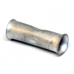 1 Gauge Copper Butt Splice Connector Side View