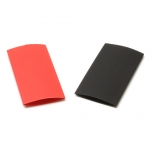 "Heat Shrink Tubing 1/2"" Red and Black"