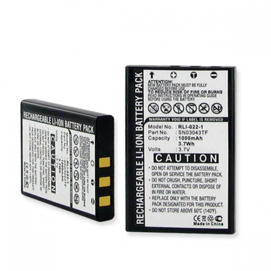 SN03043TF battery for ACOUSTIC RESEARCH ARRX18G Universal Remote Control